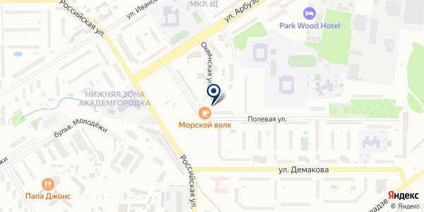 ЖЭУ №5 на карте Новосибирске