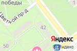 Схема проезда до компании ПАРАДОКС в Новосибирске