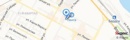 ЛенинГрад на карте Бердска