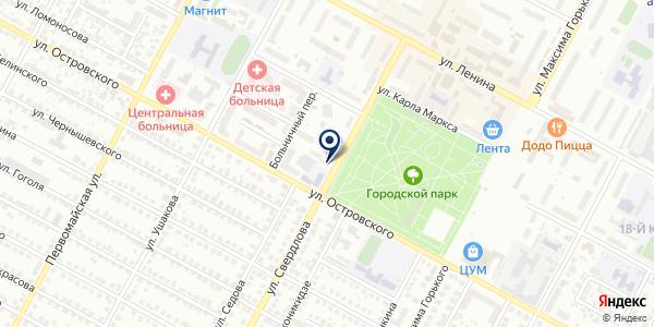 ЛОР практика на карте Бердске
