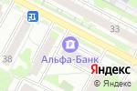 Схема проезда до компании Банкомат, Альфа-банк в Бердске