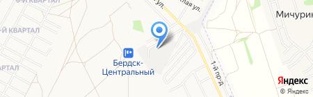 АТП 15 на карте Бердска