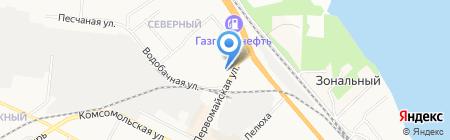 Центр по оформлению купли-продажи автомобилей и страхованию на карте Бердска