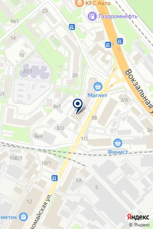 АВТОМАГАЗИН ВОЛГА МОТОРС на карте Бердска