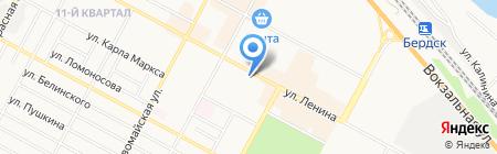 АЛЬФА-БАНК на карте Бердска