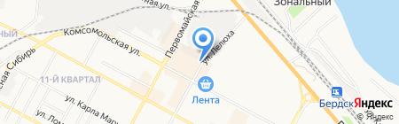 У ЯРЛА на карте Бердска