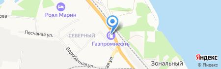 Банкомат Газпромбанк на карте Бердска