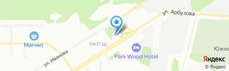 Детский сад №452 Теремок на карте Новосибирска