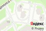 Схема проезда до компании Снегирь в Новосибирске