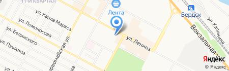 Гарант на карте Бердска