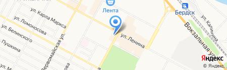 Бердский инвестор на карте Бердска