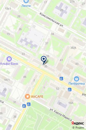 АГЕНТСТВО НЕДВИЖИМОСТИ ОЛИМП на карте Бердска