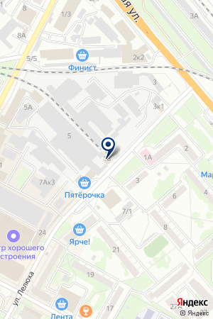 АВТОМАГАЗИН БИСЕНЬ на карте Бердска