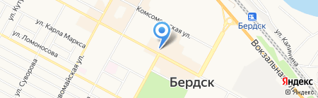 Магазин для мыловаров на ул. Ленина на карте Бердска