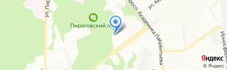 Сибмединфо на карте Новосибирска
