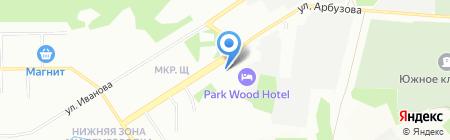 Сибирская Стоматологическая Компания на карте Новосибирска