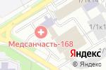 Схема проезда до компании Rust-Oleum в Новосибирске