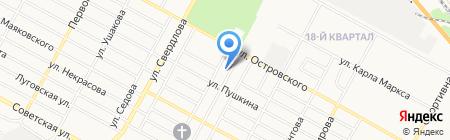 Магазин ритуальных услуг на карте Бердска