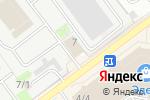 Схема проезда до компании Канистра в Новосибирске