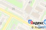 Схема проезда до компании Горячие туры в Бердске