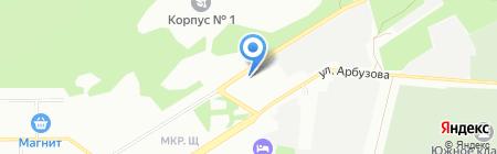 INDIGO на карте Новосибирска