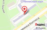 Схема проезда до компании Глобалсток в Новосибирске