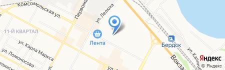 Детский сад №3 Журавушка на карте Бердска