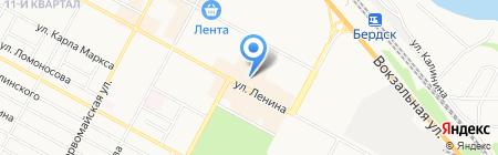 ЭКСПРЕСС ДЕНЬГИ на карте Бердска