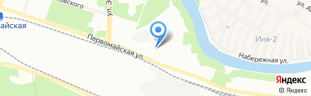 Легкий бетон на карте Новосибирска