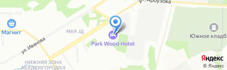 Сотис Технолоджи на карте Новосибирска