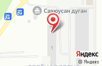 Схема проезда до компании Диво в Новосибирске