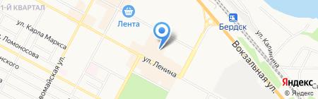 Стоматологическая поликлиника на карте Бердска