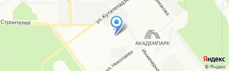 ДИФРАКЦИЯ на карте Новосибирска