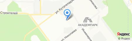 Дом Спорта на карте Новосибирска