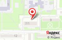 Схема проезда до компании Бабушкин сундучок в Новосибирске