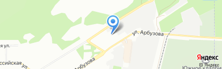 Лидер на карте Новосибирска