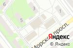 Схема проезда до компании Банк Левобережный, ПАО в Новосибирске