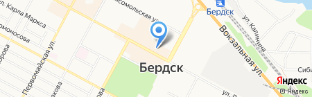 Дизель на карте Бердска