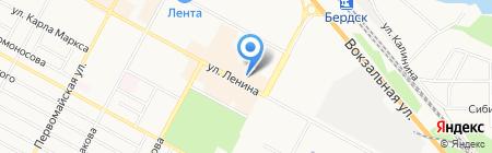 Город Мастеров ООО производственная компания входных дверей на карте Бердска