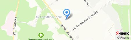 Новосибирский институт органической химии им. Н.Н. Ворожцова СО РАН на карте Новосибирска