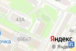 Схема проезда до компании Управление финансов и налоговой политики Администрации г. Бердска в Бердске
