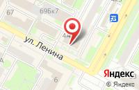 Схема проезда до компании Современные Платежные Системы в Бердске