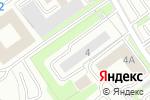 Схема проезда до компании ЭЛЕКТРОконнект в Новосибирске