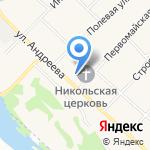 Хоздворъ на карте Новосибирска