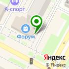 Местоположение компании Мастерская архитектора Маркова А.А.