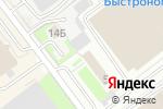 Схема проезда до компании FITstone в Новосибирске