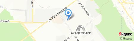 АМПС на карте Новосибирска