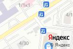 Схема проезда до компании Евразия в Новосибирске