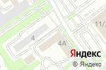 Схема проезда до компании Сант в Новосибирске