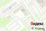 Схема проезда до компании Академ-комплект в Новосибирске